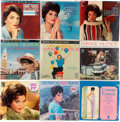 Music Memorabilia:Recordings, Connie Francis - Group of Nine Albums (1950s-1960s).... (Total: 9 Items)