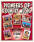 Memorabilia:Poster, Robert Crumb Pioneers of Country Music and Other Card-Set Posters Group of 3 (Denis Kitchen Publ., 2005).... (Total: 3 Original Art)