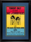 Movie/TV Memorabilia:Props, The Blues Brothers Original Prop Window Card Poster (Universal, 1980)....