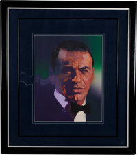 Frank Sinatra Painted Portrait by Bob Peak Signed by the Artist. (circa early 1970s)