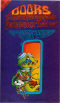 "Music Memorabilia:Posters, The Doors ""Pay Attention"" Denver Concert Poster FDD-18 (Family Dog,1967). ..."