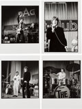 Music Memorabilia:Photos, The Who Black and White Beat Club Concert Photos and Negatives withCopyright/Exploitation Rights Assignment (1967)....