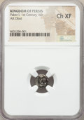 Ancients:Oriental, Ancients: PERSIS KINGDOM. Pakor I (1st century AD). AR obol. NGC Choice XF....