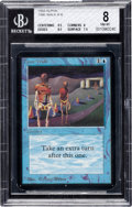 Memorabilia:Trading Cards, Magic: The Gathering Alpha Edition Time Walk BGS 8 (Wizards of the Coast, 1993)....