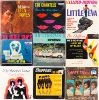 Etta James/The Chiffons – Group of 9 Albums (circa 1960s)