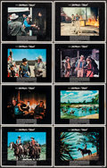 """Movie Posters:Western, Chisum (Warner Brothers, 1970). Fine+. Lobby Card Set of 8 (11"""" X14""""). Western.. ... (Total: 8 Items)"""