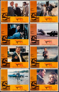 "Movie Posters:Action, McQ (Warner Brothers, 1974). Fine/Very Fine. Lobby Card Set of 8(11"" X 14""). Action.. ... (Total: 8 Items)"