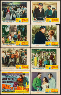"""Wake of the Red Witch (Republic, 1949). Fine. Lobby Card Set of 8 (11"""" X 14""""). Adventure. ... (Total: 8 Items)"""