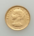 Chile, Chile: Republic gold 20 Pesos 1926-So Good XF (light surfacehairlines), ...