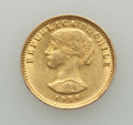 Chile, Chile: Republic gold 20 Pesos 1926-So AU (light surface hairlines),...