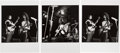 Music Memorabilia:Photos, Frank Zappa and the Mothers of Invention Black and White Concert Photos and Negatives With Copyright/Exploitation Rights Assig...