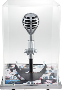 "Madonna Custom Prop Microphone Used In The ""Rain"" Video (1993)"
