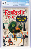 Silver Age (1956-1969):Superhero, Fantastic Four #5 (Marvel, 1962) CGC FN+ 6.5 Off-white to white pages....
