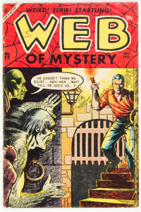 Web of Mystery #25 (Ace, 1954) Condition: VG