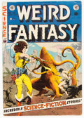 Golden Age (1938-1955):Science Fiction, Weird Fantasy #21 (EC, 1953) Condition: VG....