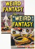 Golden Age (1938-1955):Science Fiction, Weird Fantasy #11 and 15 Group (EC, 1952).... (Total: 2 Comic Books)