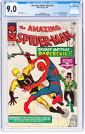 Silver Age (1956-1969):Superhero, The Amazing Spider-Man #16 (Marvel, 1964) CGC VF/NM 9.0 White pages....