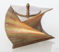 Luxury Accessory, John Nicholas Otar (American, 1893-1939). Cigarette Box, circa 1933, Otar USA. Brass and copper. 4 x 5 inches (10.2 x 12...