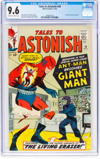 Tales to Astonish #49 (Marvel, 1963) CGC NM+ 9.6 Off-white to white pages