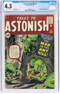 Silver Age (1956-1969):Superhero, Tales to Astonish #27 (Marvel, 1962) CGC VG+ 4.5 Off-white to whitepages....