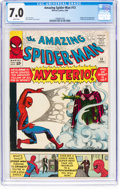 Silver Age (1956-1969):Superhero, The Amazing Spider-Man #13 (Marvel, 1964) CGC FN/VF 7.0 Whitepages....