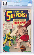 Silver Age (1956-1969):Superhero, Tales of Suspense #40 (Marvel, 1963) CGC FN+ 6.5 Off-white to white pages....