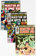 Bronze Age (1970-1979):Superhero, Master of Kung Fu Group of 47 (Marvel, 1974-80) Condition: AverageVF/NM.... (Total: 47 Comic Books)