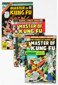 Bronze Age (1970-1979):Superhero, Master of Kung Fu Group of 20 (Marvel, 1974-77) Condition: AverageVF.... (Total: 20 Comic Books)