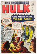 Silver Age (1956-1969):Superhero, The Incredible Hulk #2 (Marvel, 1962) Condition: Apparent ...