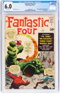 Silver Age (1956-1969):Superhero, Fantastic Four #1 (Marvel, 1961) CGC FN 6.0 Off-white pages....
