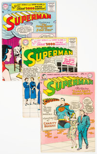 Superman Group of 7 (DC, 1955-60) Condition: Average VG.... (Total: 7)