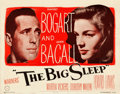 """Movie Posters:Film Noir, The Big Sleep (Warner Brothers, 1946). Fine+ on Paper. Half Sheet (22"""" X 28"""") Style A.. ..."""