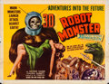 Movie Posters:Science Fiction, Robot Monster (Astor Pictures, 1953). Rolled, Fine-.