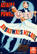 Movie Posters:Musical, Broadway Melody of 1940 (MGM, 1941). Folded, Very Fine.