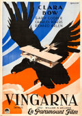 Movie Posters:Academy Award Winners, Wings (Paramount, 1929). Flat Folded, Very Fine+. ...
