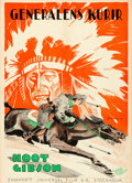 Movie Posters:Western, The Flaming Frontier (Universal, 1926). Folded, Very Fine+...