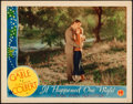 "Movie Posters:Academy Award Winners, It Happened One Night (Columbia, R-1937). Very Fine-. Lobby Card (11"" X 14"").. ..."