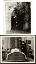 """Movie Posters:Horror, London After Midnight (MGM, 1927). Very Fine-. Photos (2) (Approx. 8"""" X 10"""").. ... (Total: 2 Items)"""
