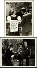 """Movie Posters:Horror, London After Midnight (MGM, 1927). Fine/Very Fine. Photos (2) (8"""" X 10"""").. ... (Total: 2 Items)"""