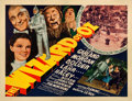 "Movie Posters:Fantasy, The Wizard of Oz (MGM, 1939). Very Fine- on Paper. Half Sheet (22"" X 28"") Style A.. ..."