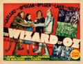 "Movie Posters:Fantasy, The Wizard of Oz (MGM, 1939). Fine/Very Fine on Paper. Half Sheet (22"" X 28"") Style B.. ..."