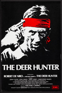 "The Deer Hunter (EMI, 1978). Rolled, Very Fine+. British Double Crown (20"" X 30""). Academy Award Winners"