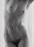 Photographs:Gelatin Silver, Ruth Bernhard (American, 1905-2006). In the Window, 1971. Gelatin silver, printed later. 13-1/2 x 9-3/4 inches (34.3 x 2...