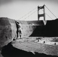 Photographs:Gelatin Silver, Ruth Bernhard (American, 1905-2006). Nude at the Golden Gate,San Francisco, 1974. Gelatin silver, printed later. 10-1/2...