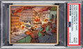 Non-Sport Cards:Singles (Pre-1950), 1938 R69 Horrors of War - A Battle From A Rooftop In Barcelona #135 PSA Mint 9 - Pop Three, None Higher. ...