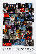 "Movie Posters:Adventure, Space Cowboys (Warner Brothers, 2000). Rolled, Very Fine. OneSheets (2) (27"" X 41"") DS, Advance and Regular Style. Adventur...(Total: 2 Items)"