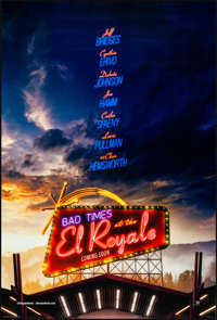 """Bad Times at the El Royale (20th Century Fox, 2018). Rolled, Very Fine. International One Sheet (27"""" X 40"""") DS..."""