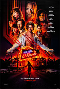 """Bad Times at the El Royale (20th Century Fox, 2018). Rolled, Very Fine/Near Mint. International One Sheet (27"""" X 40..."""