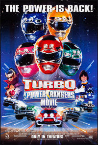 """Turbo: A Power Rangers Movie & Other Lot (20th Century Fox, 1997). Rolled, Very Fine-. One Sheets (3) (27"""" X 40..."""