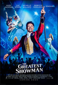 """The Greatest Showman (20th Century Fox, 2017). Rolled, Very Fine. International One Sheets (2) (27"""" X 41"""") DS..."""